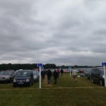 Car Park at the show