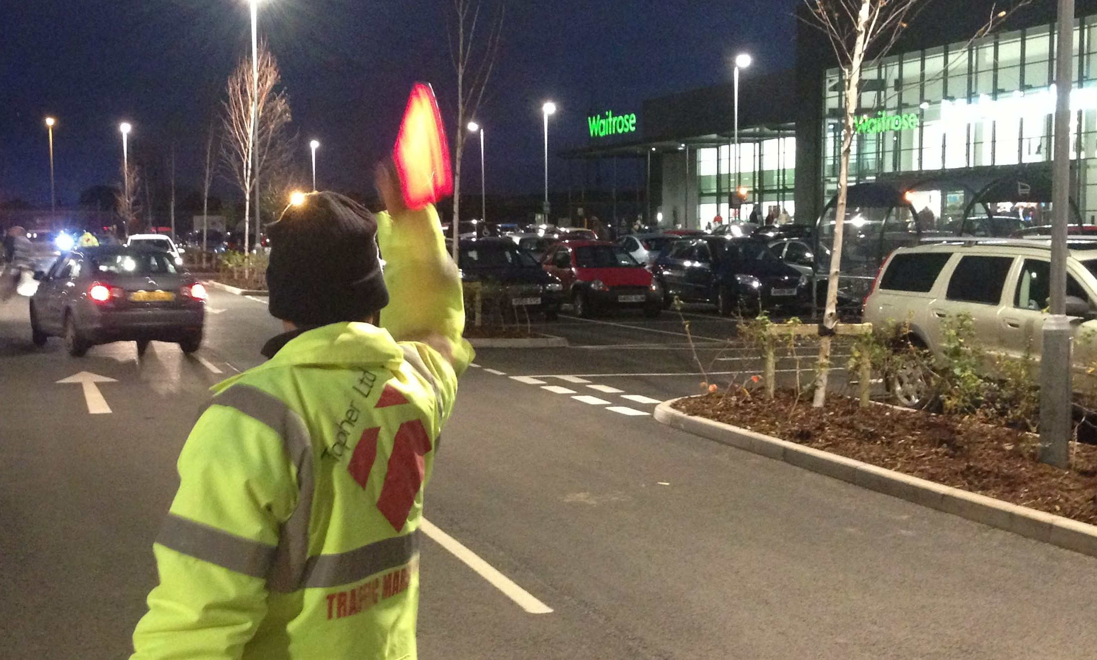 A Topher marshall at Waitrose